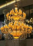 Cristal extravagante de Phine y lámpara pendiente del jade/lámpara para el chalet o el hotel