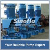 Bomba centrífuga vertical petroquímica de la succión doble del gas de petróleo con los motores de Siemens