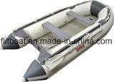barco inflable del suelo del aluminio de los 360cm