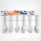 12PCS barato cuchara del acero inoxidable