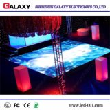 알루미늄 주물 임대 LED 댄스 플로워 전시를 정지하거나 당을%s 또는 바 또는 단계 가리고십시오 또는 보여주십시오 (높은 경도)