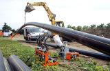 Tubo della plastica del PE del sistema dell'approvvigionamento di gas o dell'acqua