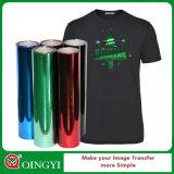 Qingyi heißer Verkauf des metallischen Wärmeübertragung-Vinyls für Gewebe
