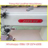 Starke materielle lederner Beutel-flaches Bett-industrielle Nähmaschine (ZH202)