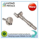 CNC подвергая механической обработке с материалом нержавеющей стали