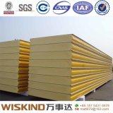 Los paneles de emparedado aislados PU de alta densidad del poliuretano