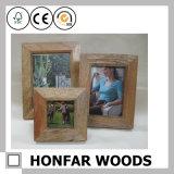 시골풍 브라운 나무로 되는 그림 사진 포스터 프레임 가족 사진