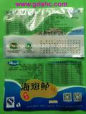 Bolso lateral del alimento de la bolsa de plástico del bolso de los mariscos del sello