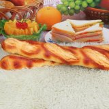 Langes Nahrungsmittelmodell-goldenes Gelb PU-Brot
