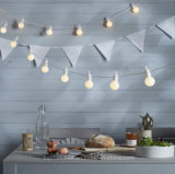 LEDの花飾り党ライトをハングさせる20暖かく白い屋内屋外の使用