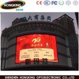 Muestra a todo color de la publicidad al aire libre LED de la alta definición P8