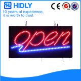Hidly Viereck das geöffnete Zeichen Europa-LED