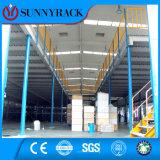 Piso de aço resistente do armazenamento do armazém da alta qualidade