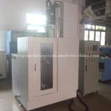 Máquina vertical de frecuencia media del endurecimiento de inducción de IGBT para el eje (ZX-100KW)