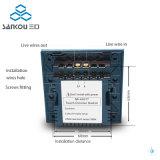 Dimmable LEDの壁スイッチのためのイギリスの情報処理機能をもったスイッチ・コントローラ1gangの調光器スイッチ