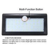 Impermeabilizzare 3 l'indicatore luminoso chiaro alimentato solare intelligente di notte del supporto della parete del sensore di movimento di modi 38 il LED SMD2835 PIR