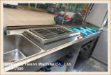Carro móvel Multifunction do alimento do reboque do alimento Ys-Fv300 que cozinha o reboque