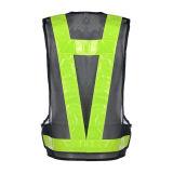 Veste elevada da segurança da estrada do Vis