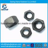 Porcas Hex pesadas de ASTM A193 2h com superfície preta