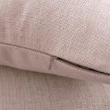 Cassa del cuscino stampata fenicottero di tela di natale del cotone senza farcire (35C0019)