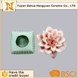 Bottiglia di profumo di ceramica di alta qualità con la protezione del fiore