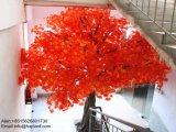 Garten-Dekoration-künstlicher rotes Ahornholz-Baum für Außenseite oder Innere