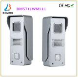 Memória 7 polegadas de Interphone video de Doorphone do Doorbell da segurança Home do intercomunicador com câmera