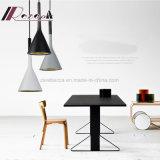 Luz simples moderna do pendente da resina para o quarto de barra/sala de jantar