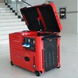 Bisonte (China) BS6500dse 5kw 5kVA 5000W jogo de gerador 10HP Diesel portátil da potência da HOME da garantia de 1 ano para a venda