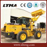 Китайская емкость 3cbm затяжелитель колеса 3.5 тонн для сбывания