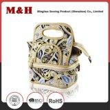 Sac en nylon de produit de beauté de sac de sac portatif de course d'unité centrale