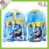 Conception de sublimation personnalisée respirante Custom Tournament Fishing Jerseys
