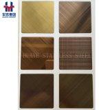 Decortionのための工場供給の高品質のステンレス鋼カラーシート