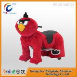 Cavallo a pile del giocattolo del bambino del genitore per il centro commerciale