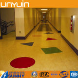 Glänzend farbige Belüftung-Vinylbodenbelag-Fliese
