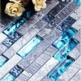 Azulejo de Suelo de Piedra de Mármol Natural de Mosaico del Color Mezclado del Material de Construcción (FYSSC225)