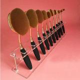 Acrylverfassungs-kosmetischer Organisator-Ausstellungsstand für Zahnbürste 10PCS