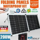 Nuovo fornitore flessibile piegante del comitato solare della pila solare di Sunpower del caricatore di 12V 200W