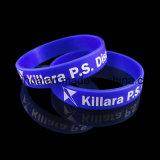 Wristband feito sob encomenda barato do silicone de Hxy BPA com Thb-020