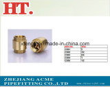 Ajustage de précision mâle en laiton d'adaptateur de picot de boyau (1/4 x 1/8)