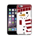 크리스마스 눈사람은 iPhone를 위한 플라스틱 PC 상자 덮개를 디자인한다