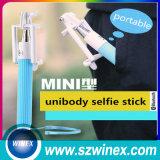 Mini palillo plegable al por mayor de Monopod Selfie del teléfono móvil con la radio