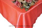 Tablecloths sem emenda do cetim do retângulo