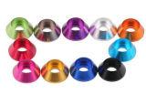 Алюминиевая шайба полукруглой головки, цвет анодировала алюминиевую шайбу полукруглой головки, шайбу винта цвета