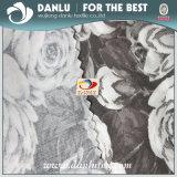 Elastisches Popelin-Gewebe mit der Blume gedruckt für Hemd