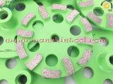 구체적인 닦는 다이아몬드 컵 바퀴 다이아몬드 공구
