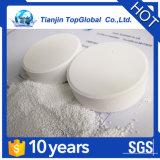 De tablet TCCA 90 chemische formule C3Cl3N3O3 van de chloor