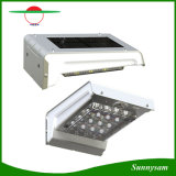 da luz solar da parede do sensor de movimento da potência PIR de 16LED a iluminação ao ar livre sem fio IP65 Penel Waterproof a luz da noite da lâmpada do jardim