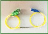 1X2 met en communication le diviseur de fibre du mode 1310nm unitaire, accouplant le taux 50/50