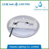 Luz subaquática enchida resina da piscina do diodo emissor de luz